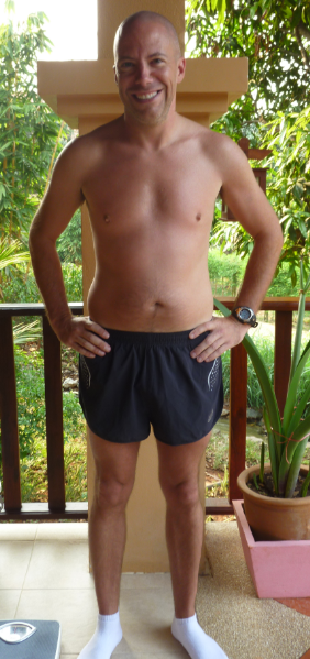 Francois Leblank fitness camp Thailand - Before