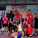 Authentic Thai Muay Thai gym at the thailand fitness boot camp