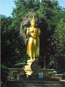 Thailand fitness boot camp Budha photo