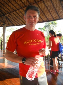 Richard Thomas Co- founder of the bootcamp for fitness Thailand