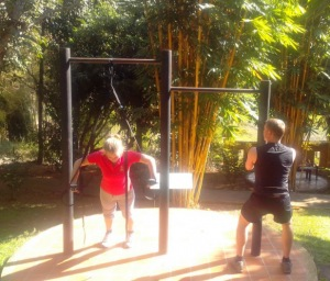 suspension training bootcamp fitness