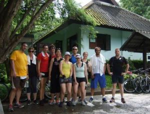 July 2013 guests who gave us brilliant fitness holiday boot camp Thailand reviews fitness holiday