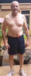 David after his fitness holiday in Thailand