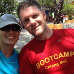 Richard co founder of the thailand fitness bootcamp